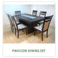 PAVILION DINING SET